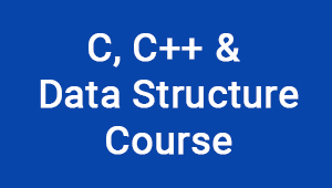 C, C++ and Data Structure Course