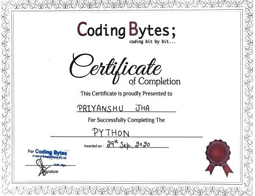 certificate-python